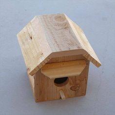Image result for pallet birdhouse