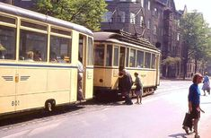 The first tramline opened in Leipzig in It is now one of Germany's largest tramway networks. Tramway, Public Transport, Transportation, Germany, Historia, Leipzig, City, Nostalgia, Deutsch