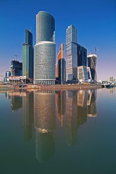 City, Moscow by Mikhail Yun on 500px