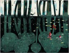 """Aquí tenéis la entrevista con Nathalie Minne sobre """"El chico del bosque"""", impresionante libro editado por Edelvives. http://www.unperiodistaenelbolsillo.com/nathalie-minne-y-el-chico-del-bosque-mis-ilustraciones-estan-realizadas-con-collage-utilizo-pasteles-lapices-de-colores-para-hacer-diversos-materiales-que-despues-corto-monto-y-pego/"""