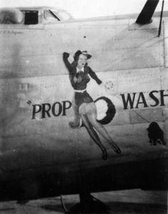 R. Lee Ermey's SOUND OFF Forum :: View topic - Bomber Nose Art