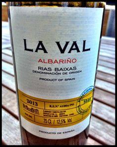El Alma del Vino.: Bodegas La Val Albariño 2013.