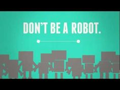 """The Creed – Don't Be a Robot: This video takes an in depth look at the creed we say at Mass. I think this format would appeal to teens and open up some discussion. I'm sharing this with our high school youth group.    """"When you recite the Creed, are you being real or are you being a robot? Do you even know what you are saying? Is there a difference between believing there is a God and believing in God?"""""""