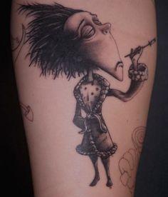 tim burton tattoo - Pesquisa Google
