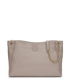 Tory Burch Marion Chain-shoulder Slouchy Tote This French Grey is gorgeous! My pal has the sister version of this bag and it's beautiful too.
