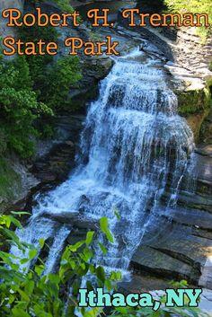 Exploring Robert H. Treman State Park in Ithaca, NY | Justin Plus Lauren
