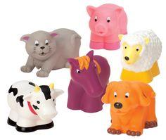 Battat - Barnyard Bath Buddies   Toy   at Mighty Ape NZ