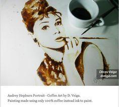 Coffee painting #dunn bros coffee
