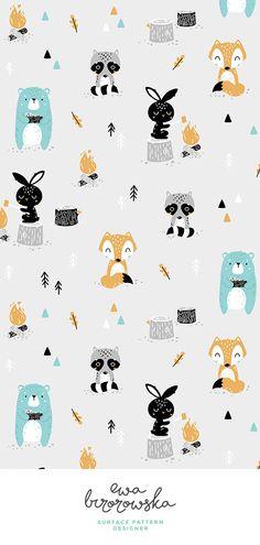 Bear, fox, scandi, s