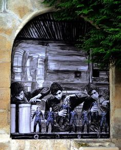 """New outdoor work from Levalet - """"The factory"""" - Paris, France - Dec 2014"""