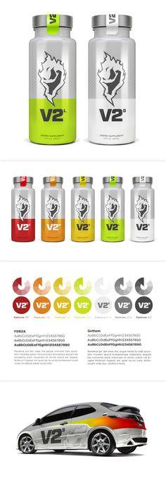 V2 #energy #packaging #branding PD