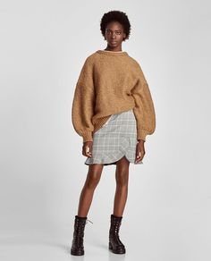 ZARA - WOMAN - MINI SKIRT WITH FRILL
