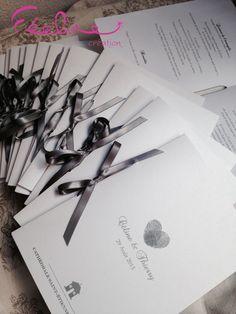 Livret de messe By Féeline création Mariage, baptême, www.feelinecreation.com, menu, dragée, cadeaux invités, marque-place, livret de cérémonie, fleur, livre d'or, boite cadeau, urne, plan de table, coussin alliance, dentelle, retro, champêtre, romantique .... Wedding invitation, save the date