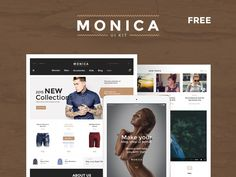 Download Monica Ui kit PSD UI Template - http://www.vectorarea.com/download-monica-ui-kit-psd-ui-template