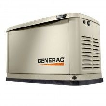 Generac 7171 Home Standby 10kw Generator Norwall In 2020 Standby Generators Whole House Generators Generator House