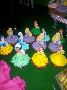 disney princes cupcakes