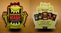"""Monster Mash"" card game packaging"