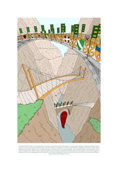 Three Bridges Gorge Three Bridges, Map, Location Map, Maps