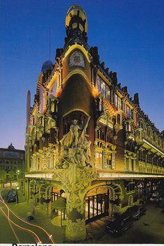 ✮ Palau de la Música Catalana, Barcelona, Spain