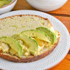 Egg Salad and Avocado Sandwich - Salu Salo Recipes