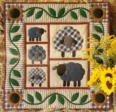 sheep quilt pattern