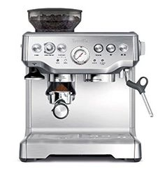 When it comes to quality espresso machines, look no further than the Breville BES870XL Espresso Machine.  This machine was designed especially for consumers looking for a convenient and simple to use a product that gives them quality results each and every time they use it.
