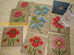 http://nikiad.blogspot.gr/2014/09/cross-stitch-coasters.html