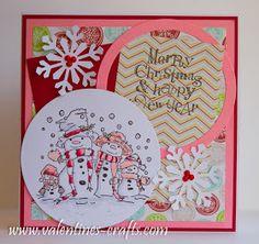 Valentines: Christmas 2013 - Card 4..
