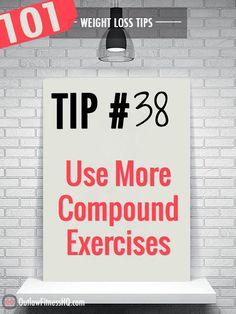 Isolation exercises target individual muscles exclusively, whereas compound exercises utilize multiple muscle groups at once. Isolation exercises can be useful for certain purposes, particularly for bodybuilders, but have limited benefit when trying to lose weight as quickly as possible. Use compound exercises that target more than one muscle at a time to burn more calories.