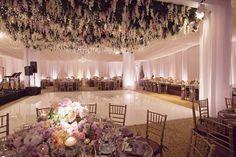 gorgeous dancing floor with flowers on top, magical ceiling  http://www.stylemepretty.com/2015/12/10/elegant-enchanted-garden-wedding-at-terranea/?utm_source=feedburner&utm_medium=email&utm_campaign=Feed%3A+typepad%2Fstyle_me_pretty+%28Style+Me+Pretty%3A+The+Ultimate+Wedding+Blog%29