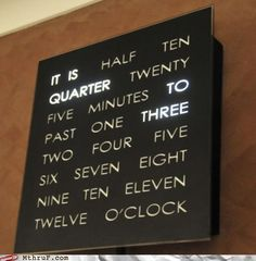 This clock is pretty much amazing!