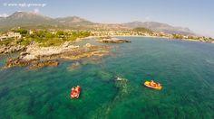 Kalogria beach Stoupa Messinia region Peloponnese