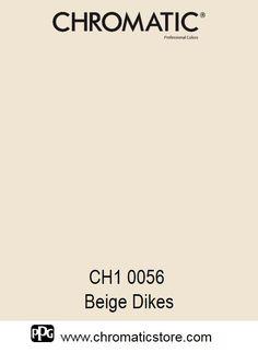 Finalisez votre projet #peinture avec le #Beige Dikes CH1 0056 en vous rendant dans l'un de nos points de vente partenaires. Trouvez votre distributeur sur www.chromaticstore.com