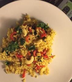 Something Different: Lemon Rice   #foodporn #foodblog #cooklikeachef #bonappetit #vegetarian #healthyeating #healthycooking #organic #5aday #vegan #cleaneating