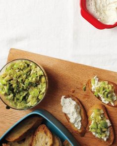 Lima-Bean Crostini with Ricotta Recipe