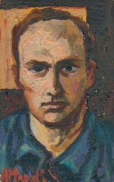 Ugo Attardi Self-portrait