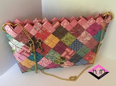 Eco handbag Patchwork by KraftsbyMaryot on Etsy
