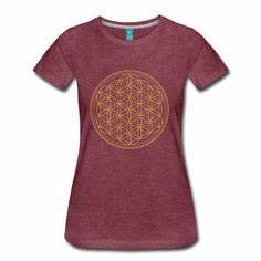 Teebazaar - clothing and accessoires Yoga Pilates, Flower Of Life, Funny, T Shirt, Fashion, Yoga Exercises, Fashion Styles, Funny T Shirts, Sacred Geometry