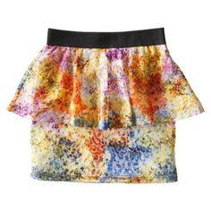 D-Signed Girls' Skirt -  Lava - target.com  #kidseaster