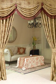 1000 Images About Antique Curtain On Pinterest Swag