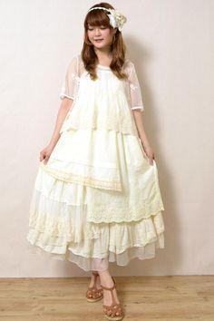 Fashion for a Rainbow Girl in a Grey World . Mori Girl, Lolita Mode, Forest Fashion, Forest Girl, Ethereal Beauty, Granny Chic, Pink Houses, Lolita Fashion, Cute Fashion