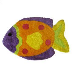 Fish Playground Tufted Rug