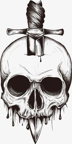 Dieser Artikel ist nicht verfügbar Schädel Schwert Svg Vektor digitale Clipart t-shirt-Design Scary Drawings, Dark Art Drawings, Art Drawings Sketches Simple, Pencil Art Drawings, Tattoo Sketches, Cool Skull Drawings, Simple Skull Drawing, Tattoo Design Drawings, Tatto Skull
