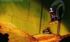 Uncle Scrooge Dives Into Fortune. Wealth Source: Unclear, but likely started by doing odd jobs.  #OddJobs