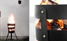 FIRE BASKET IS A PORTABLE FIRE PIT