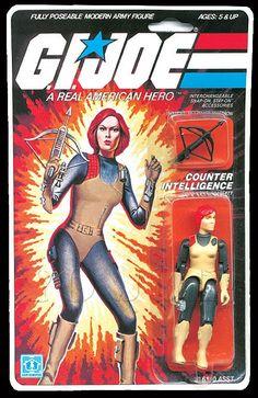Scarlett (v1) G.I. Joe Action Figure - YoJoe Archive
