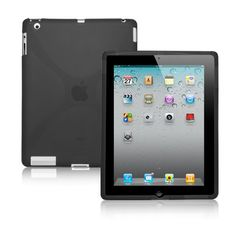 out of this world BoxWave iPad 2 BodySuit, Premium Textured TPU Rubber Gel Skin Case - iPad 2 Cases and Covers **SPECIAL OFFER** Buy 1 Get 2nd Unit 50% Off for Limited Time Only! -See Details! (Jet Black)