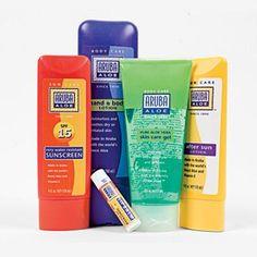 Made-in-Aruba sunscreen and aloe for destination wedding welcome bags
