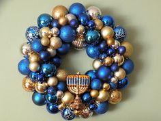 Chanukah wreath