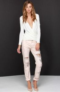 Lucille Mae: Boyfriend Jeans for every day of the week-BLUSH